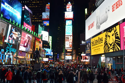 Bus Turístico New York - FreeStyle Pass/Times Square North / Times Square South / Port Authority Bus Terminal/1