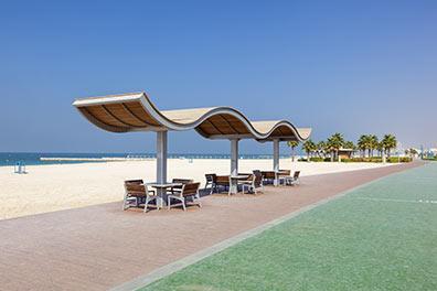 Dhow Dinner Cruise + Hop-On Hop-Off Dubai/Public Beach Umm Suqeim/18