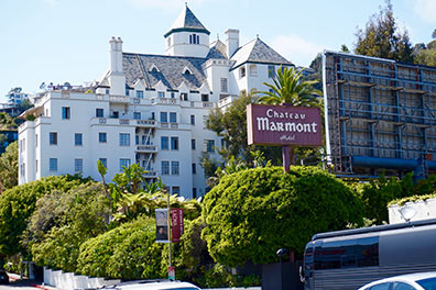 Bus Touristique Hollywood et Los Angeles/Chateau Marmont/3