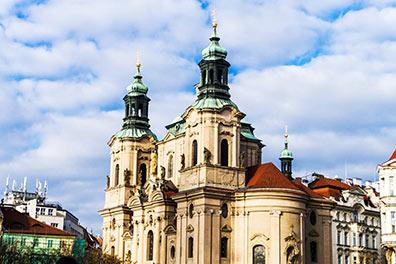 Burgspaziergang + Hop-On/Hop-Off-Bustour Prag + Boot/St. Nicholas Church/4