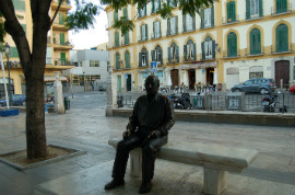 Hop-On/Hop-Off-Bustour Malaga/Plaza de la Merced / Casa de Picasso/12