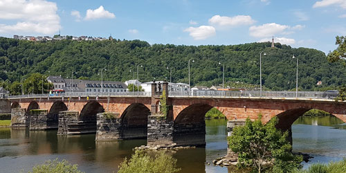 Römerbrücke/Barbarathermen