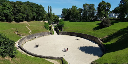 Hop-On/Hop-Off-Bustour Trier/Amphitheater/5
