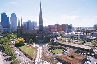 Bus Touristique Melbourne/Cathedral Place/13
