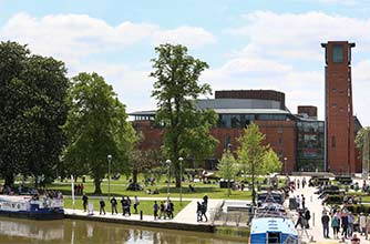 River Avon & Royal Shakespeare Theatre