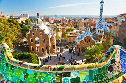 Hop-on/Hop-off-Bustour Barcelona/Park Güell/6