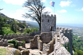 Hop-On/Hop-Off-Bustour Sintra/Castelo dos Mouros/13