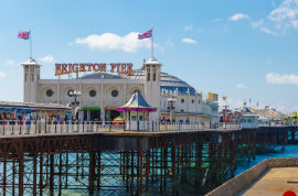 Hop-On/Hop-Off-Bustour Brighton/Brighton Palace Pier/1