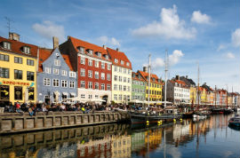 Hop-On/Hop-Off-Bustour Kopenhagen/Nyhavn/2