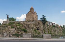 Bus Touristique Tbilissi/Metekhi Wall/9