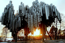 Hop-On/Hop-Off-Bustour Helsinki/Sibelius Monument/14