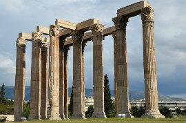 Hop-On/Hop-Off-Bustour Athen/Temple of Zeus/5