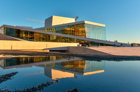 Oslo Opera House / Ekeberg Sculpture Park