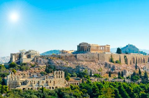A The Acropolis & Parthenon (Enlace: ruta El Pireo)