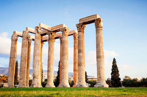 A Temple of Zeus