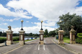 Poole Park: Park Gates East
