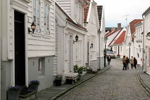 Strandkaien Cruise Terminal & Old Stavanger