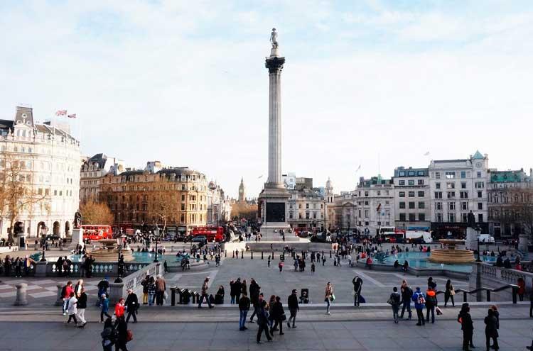 Pall Mall East (Trafalgar Square)