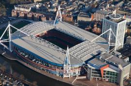 Bus Touristique Cardiff/Principality Stadium / Stadiwm Y Mileniwm/11