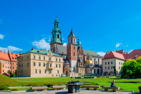 Wawel Royal Castle, Old Town